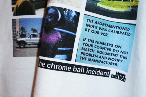 Heel Bruise x Chrome Ball Incident VHS