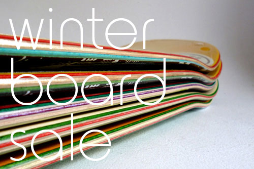 Winter Board Sale