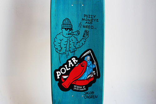 Win Signed Polar Jacob Ovgren Boards.