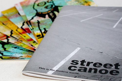 Street Canoe Issue 2 Ltd. Edition Print Pack